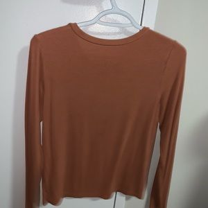American Eagle Outfitters Tops - American Eagle soft and sexy ribbed long sleeve!!